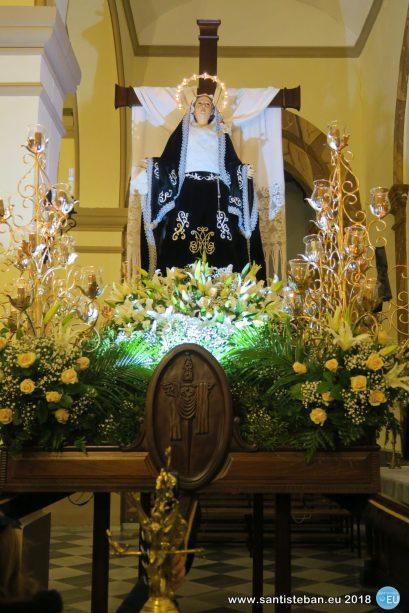 Soledad sin procesionar - Viernes Santo 2018