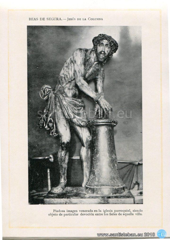 BEAS DE SEGURA.- Jesús de la Columna.