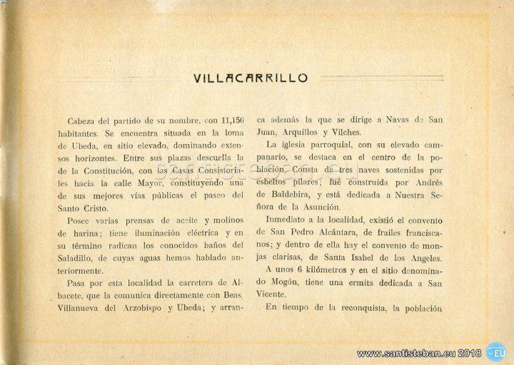 Comentarios acerca de Villacarrillo