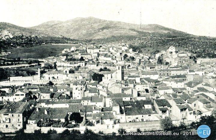 Panorámica de Beas de Segura. Década 1910. Portfolio Fotográfico de España, nº 85.