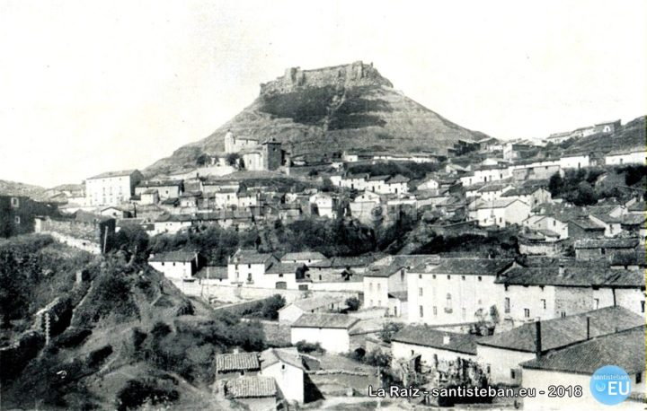 Panorámica de Santisteban del Puerto. Década 1910. Portfolio Fotográfico de España, nº 85.