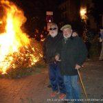 Juan José y Amigos en la lumbre de San Antón 2019
