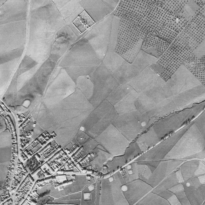 Vista Aérea 1945 - Santisteban N.E.