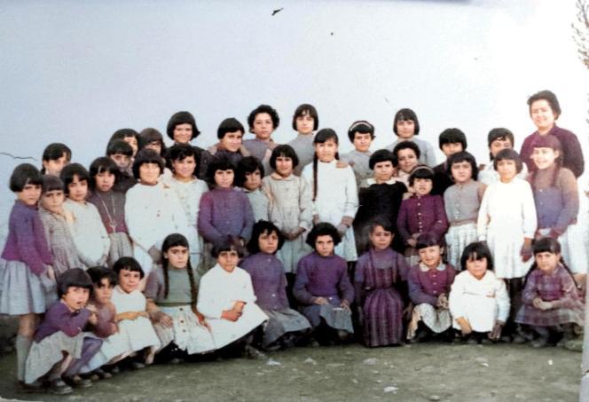 Escuela de Doña Eleuteria. Años 60. Fototeca de El Chinero.