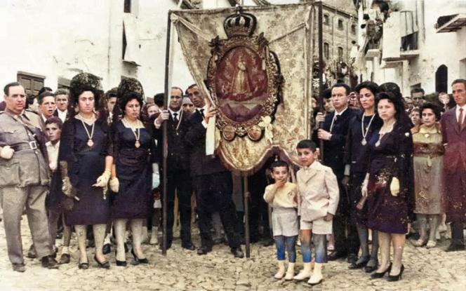 Mayordomía 1960-1961. Fototeca de El Chinero