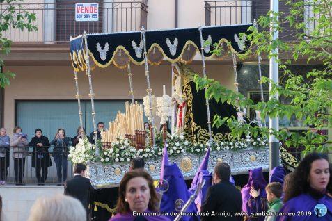Procesión de Nuestro Padre Jesús Nazareno y Virgen de la Amargura. Madrugá 2019
