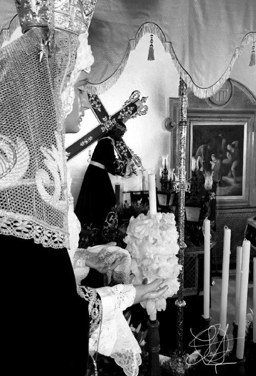 Contraportada de Cruz Nazarena 2019 por Javier Arcos Cámara