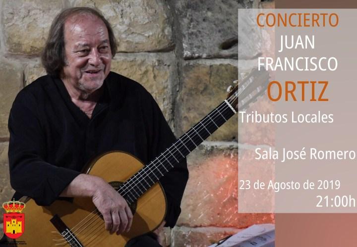 Concierto de Guitarra de Juan Francisco Ortiz 2019