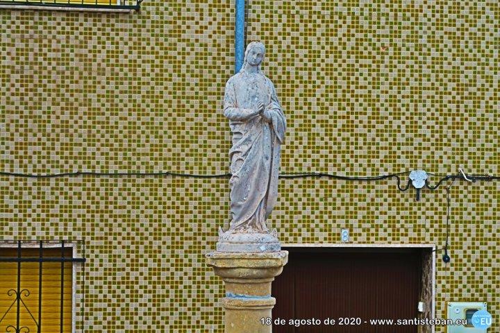 Inmaculada recientemente restaurada por la Cofradía