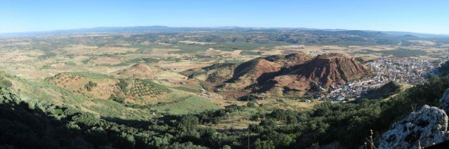 Panorámica desde el Cerro San Marcos