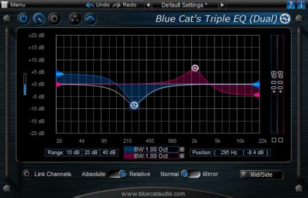 BlueCat's Triple EQ