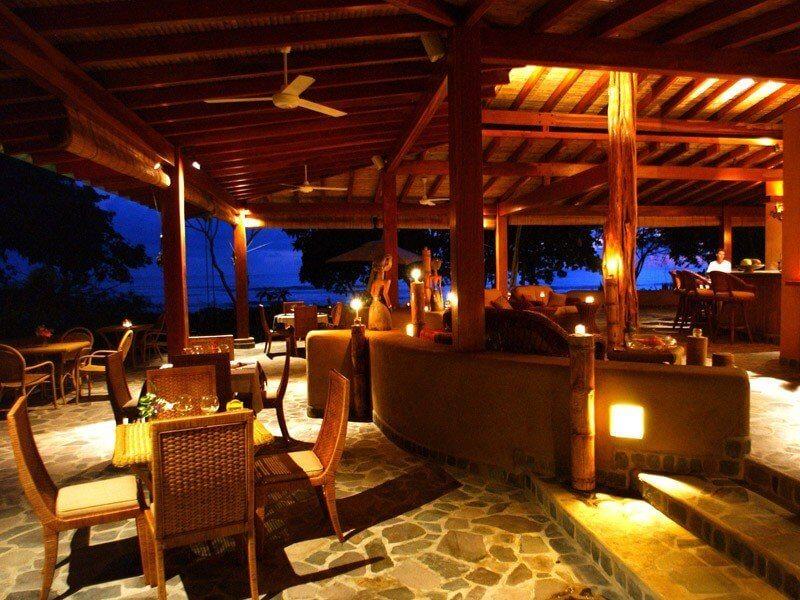 From-Santo-Domingo-To-Las-Terrenas-Restaurant-Night