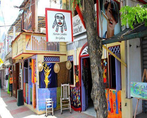Santo Domingo to Las Terrenas Art Gallery