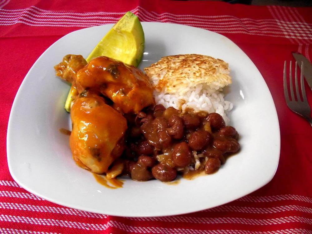 Pollo Guisado Dominican Food