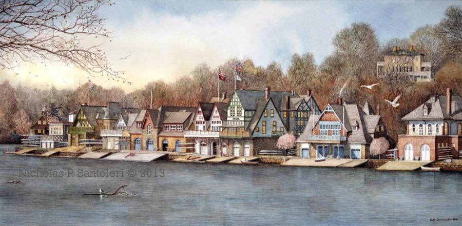 Boathouse Row 7 Santoleri
