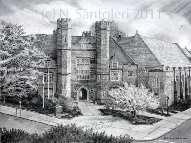 West Chester University by Santoleri