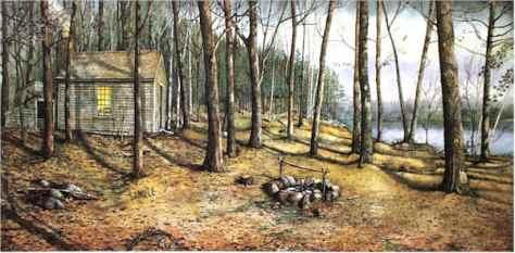 Woodland Visitors by Santoleri
