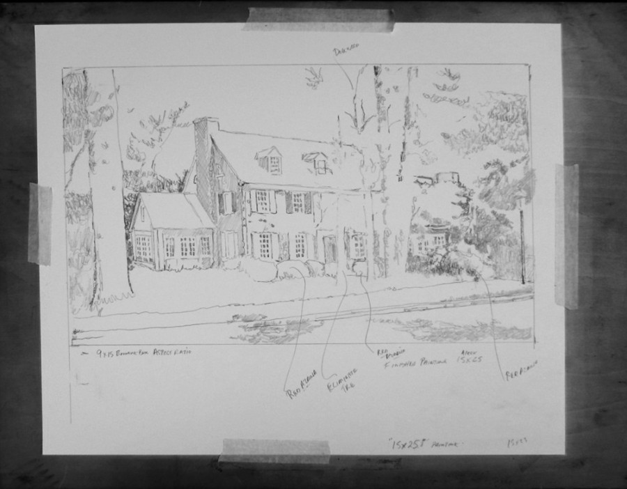 03 First sketch of the home