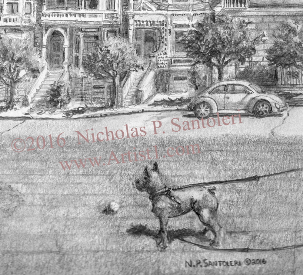 Alamo Square Detail 1