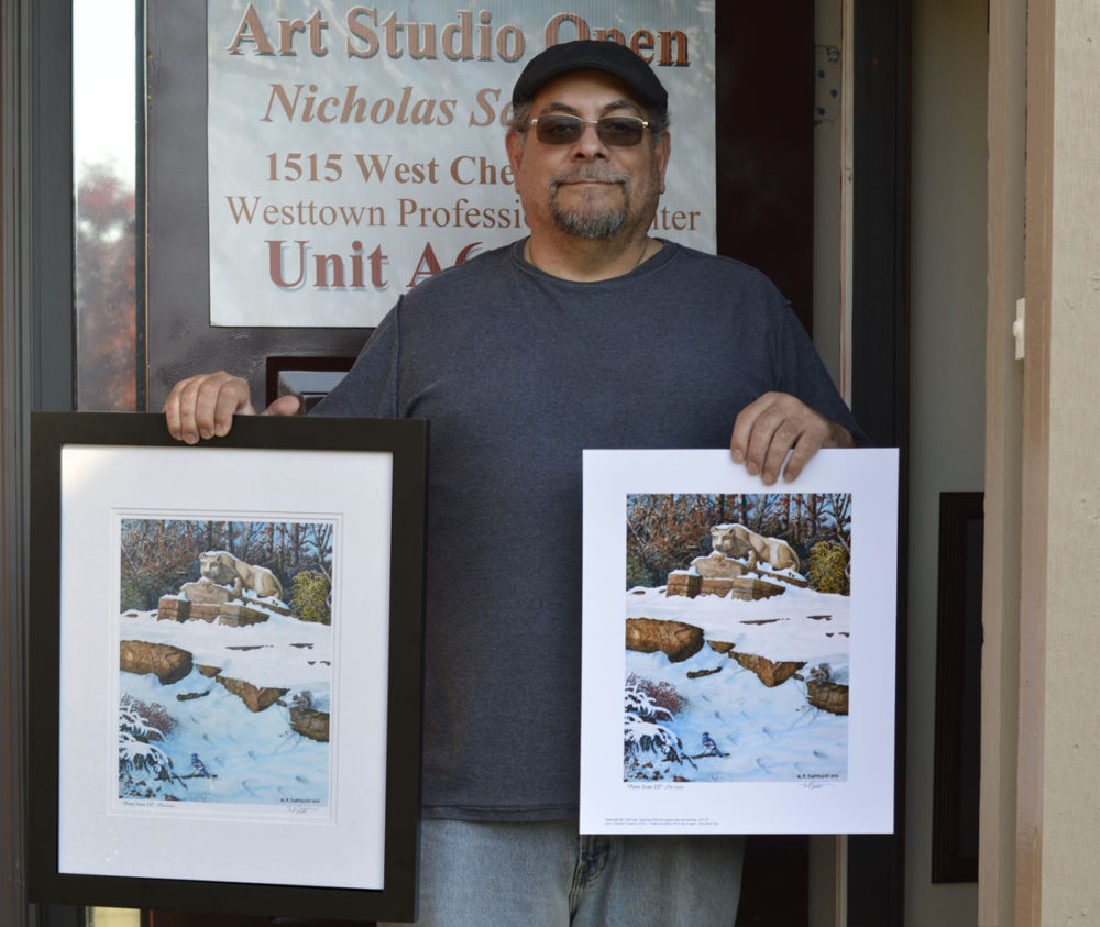 Framed and Unframed Penn State 3 Prints