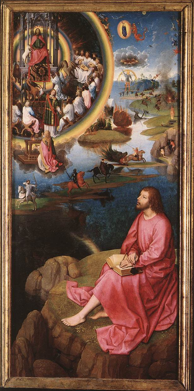 Hans Memling's Painting of St John's Apocalypse