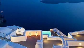 Voyage vente privée hotel Chromata Santorin