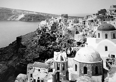Image result for santorini earthquake 1956