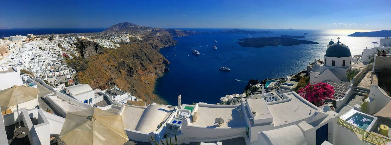 Santorini Airport Shuttle Taxis Coach Shared Ride Transfers
