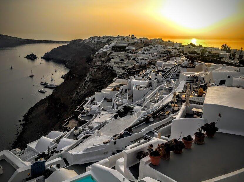 Santorini North Side Tour