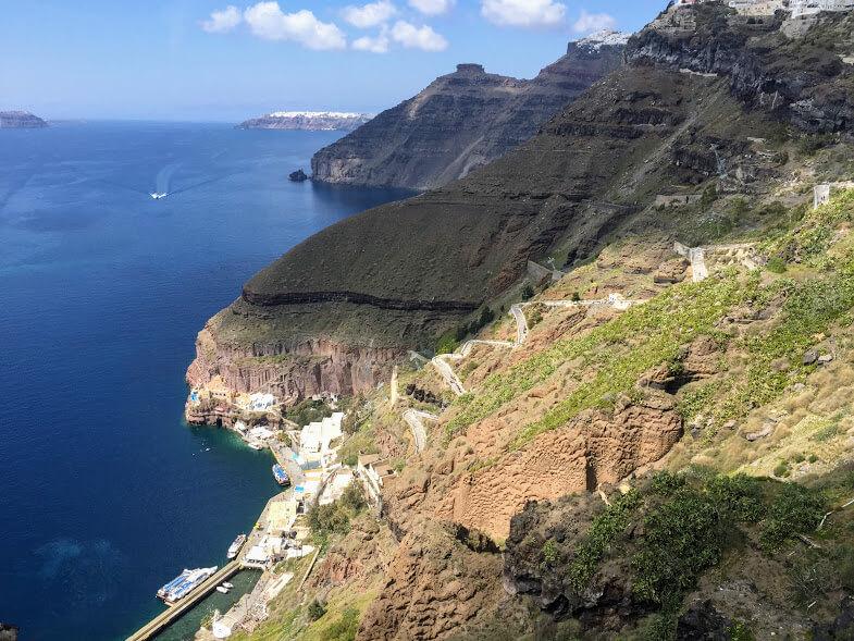 Getting to Santorini
