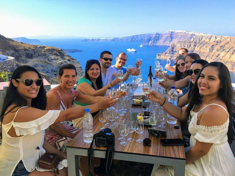 Santorini Food Tour and Wine Tour