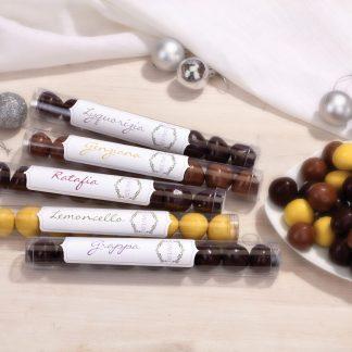 Praline di Cioccolato ripiene di Liquore