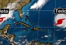 Photo of La tormenta Beta se acerca a la costa de Texas y el huracán Teddy a Bermudas