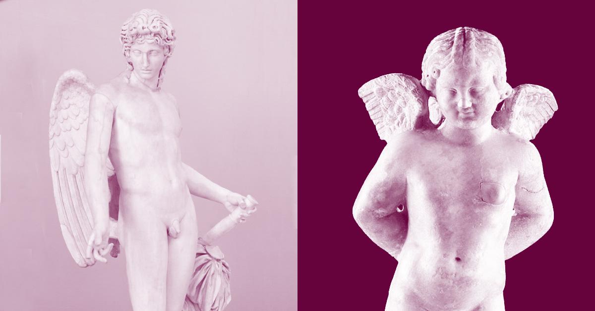 Eros vs Cupido