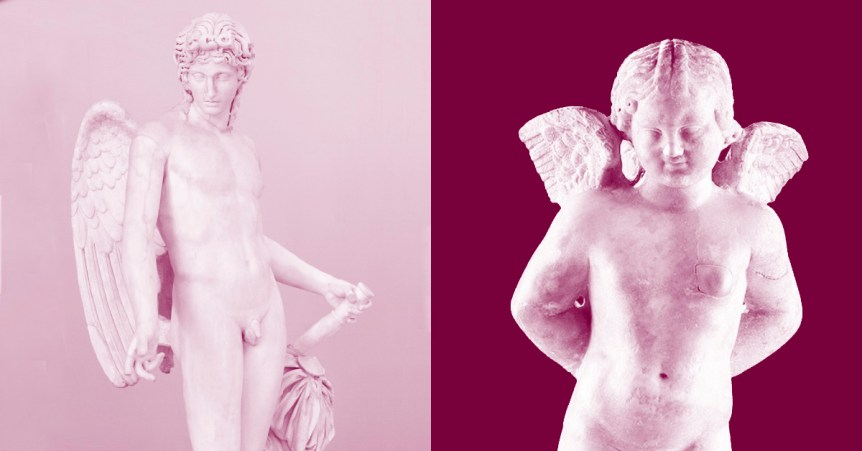 Eros is not Cupid: differences and similarities