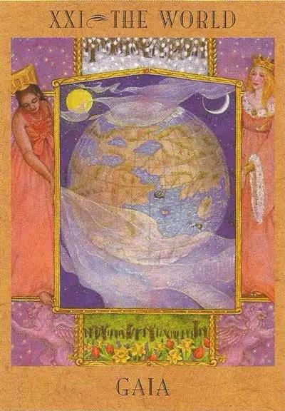 Deusa Gaia - The Goddess Tarot