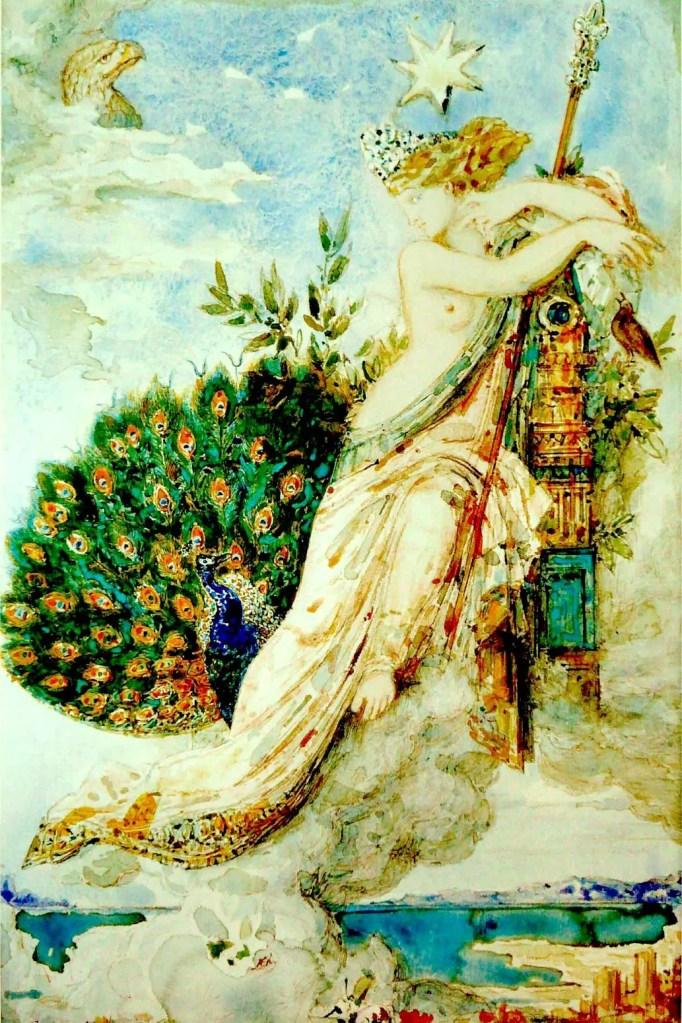 Juno por Gustave Moureau