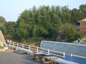 赤坂うどん:川岸