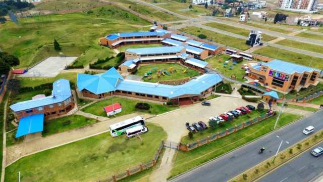 Vista panoramica Colegio San Viator Tunja