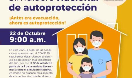 Simulacro Nacional de autoprotección