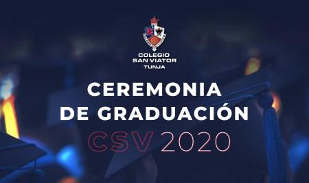Transmisión ceremonias de graduación 2020