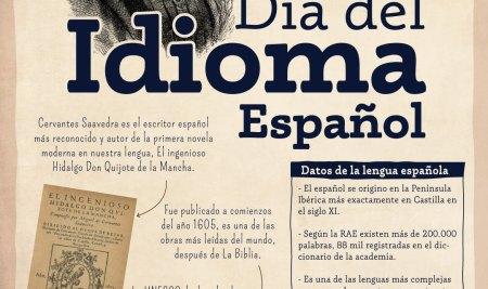 Celebramos el Día del Idioma español