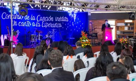 Así fue la Gran Final del Primer Concurso de la Canción Inédita del Colegio San Viator de Tunja