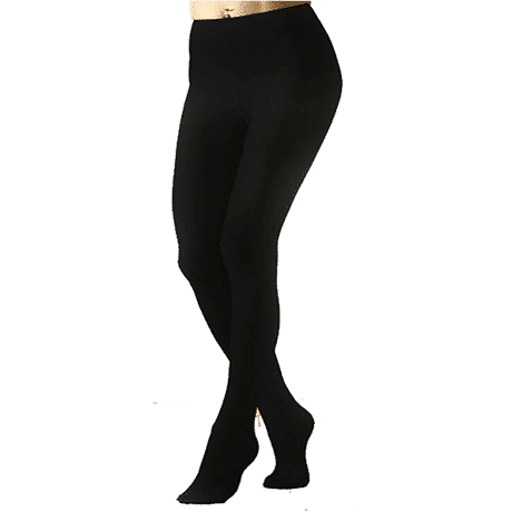 Opaque Black Tights 120D