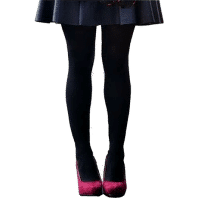 Cotton Tights  Navy Blue for School Girls and Toddlers