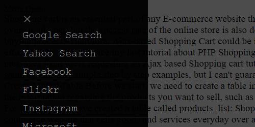slidebar-nav-menu