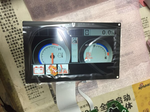 e320d lcd e320d monitor lcd being use