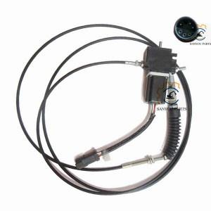 E307 Round Plug Accelerator Motor 102-8007, E307 Throttle Motor 102-8007, E320C Servo Motor,E320c 247-5212 Accelerator Motor