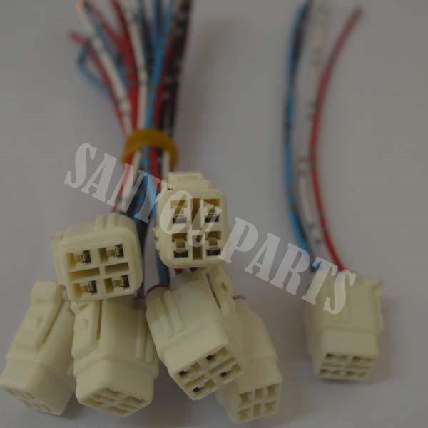 Kobelco SK200-3 SK200-5 Motor ASS'Y Plug (4Lines)
