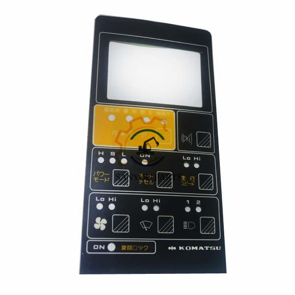 Komatsu PC200-5 6D95 Monitor Surface, Monitor Fittings